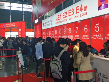 Almost 31,000 visitors (+25.5 compared to 2016) came to see the latest innovations for the laboratory at analytica China in Shanghai